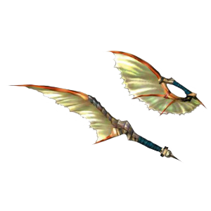 MH4U - Doubles Lames - Coutelas Plesioth