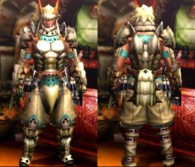Armure Barioth (Épéiste) (MH4)