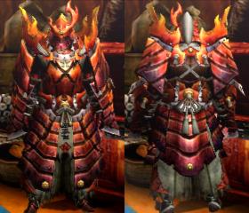 Armure Aurore X/ancestral X (Artilleur) (MH4U)