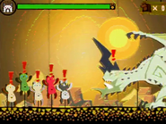 MH4-Shagaru Magara Felyne Minigame Screenshot