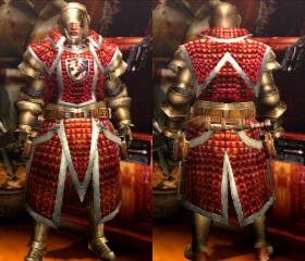 Armure Gardien Z/servante Z (Épéiste) (MH4U)