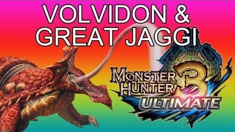 G1★ Volvidon & Great Jaggi guide ラングロトラ - Monster Hunter 3 Ultimate MH3U