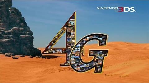 3DS『モンスターハンター4G』 ティザーCMムービー-1