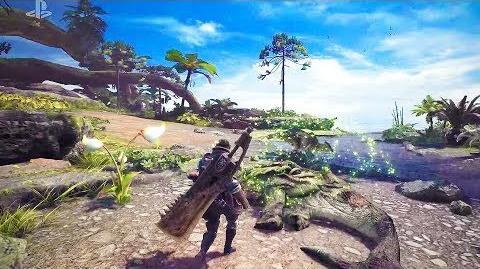 MONSTER HUNTER WORLD Gameplay Trailer (E3 2017) PS4