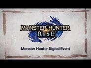 Monster Hunter Digital Event – Janvier 2021 (Nintendo Switch)