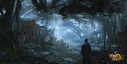 MHO-Dark Veil Forest Concept Art 007
