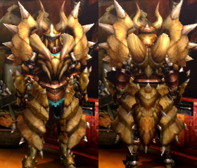 Armure Diablos X (Épéiste) (MH4U)