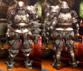 Armure Gravios S (Artilleur) (MH4)