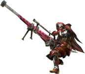 MH3G-Pink Rathian HBG