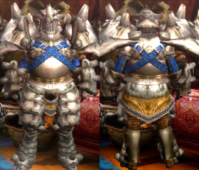 Armure Gravios X (Épéiste) (MH4U)