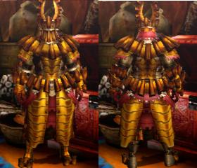 Armure Barroth X (Épéiste) (MH4U)