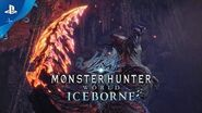 Monster Hunter World Iceborne - Glavenus Trailer PS4