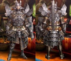 Armure Basarios S (Artilleur) (MH4)