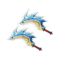 MH4U - Doubles Lames - Crocs Blizztrios