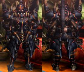 Armure Akantor (Épéiste) (MH4)