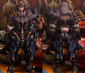 Armure Akantor (Artilleur) (MH4)