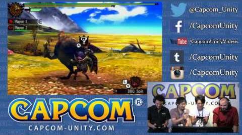 Monster Hunter 4 Ultimate - Gameplay et Explications avec Ryozo Tsujimoto (E3) Jour 2