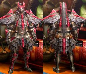 Armure Basarios U (Épéiste) (MH4)