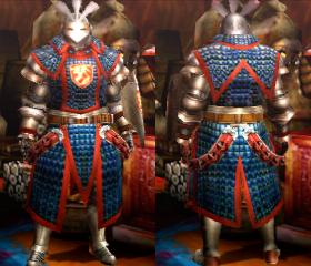 Armure Gardien X/servante X (Artilleur) (MH4U)