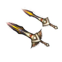 MH4U - Doubles Lames - Neige jumelles