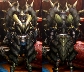 Armure Diablos Z (Épéiste) (MH4U)