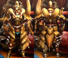 Armure Diablos X (Artilleur) (MH4U)