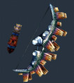 MH3U - Arc - Corde en chrome I