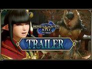 (FR) Monster Hunter Rise - Trailer -2 -Video Games Award-