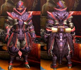 Armure fantasque X (Artilleur) (MH4U)
