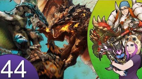 Monster_Hunter_4_Nubcakes_44_-_FERAL_Rathalos_&_Azure_Rathalos_English_commentary_online_gameplay