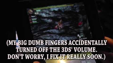 Monster Hunter 4 Ultimate - Gameplay du Glaive Insecte (E3)
