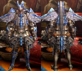 Armure Basarios X (Épéiste) (MH4U)
