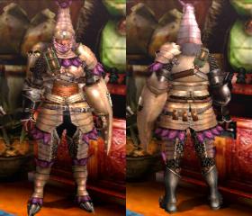 Armure Homard (Artilleur) (MH4)