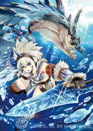 Felyne, Lagiacrus & Kirin Armor
