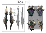 MHW-Nergigante Lance Concept Art 001