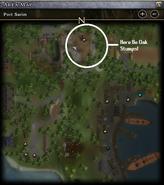 Oak Tree Location