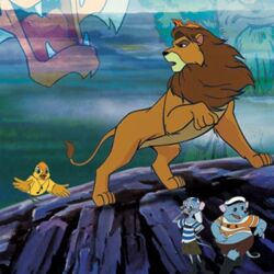 Simba the King Lion