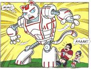 Neko, o robô, em Mônica N9