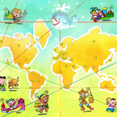 Países do mundo, Álbum da Mônica (1979).png