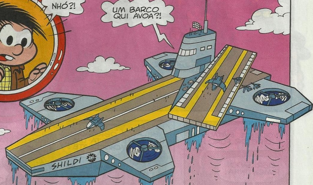 Aeroporta-Aviões da S.H.I.L.D.I.