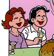Pais da Denise em 'Porcos no Natal'