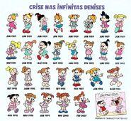 Crise nas Infinitas Denises Coleção de Miniaturas nº 14