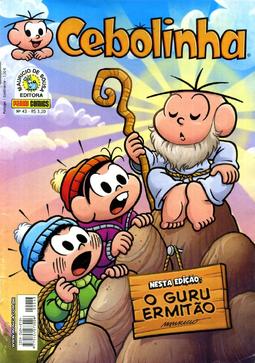 Cebolinha, Número 43, da Panini Comics.png