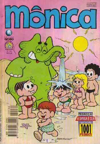 Mônica nº 134 (Editora Globo)