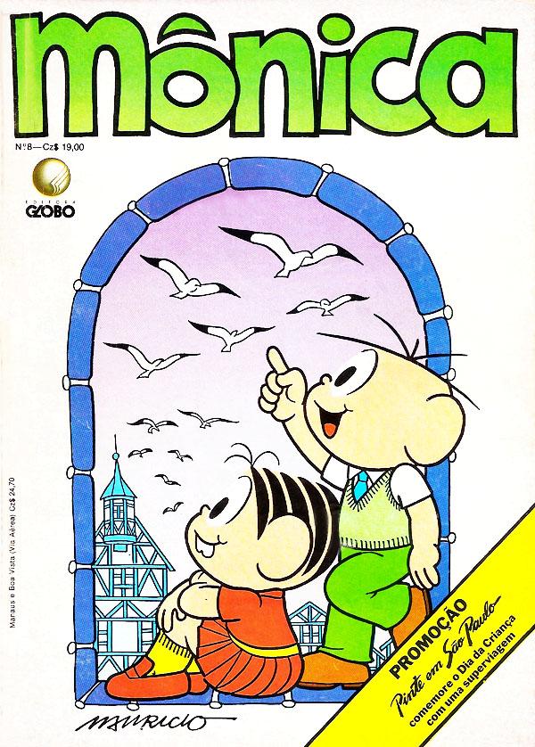 Mônica Nº 8 (Editora Globo)