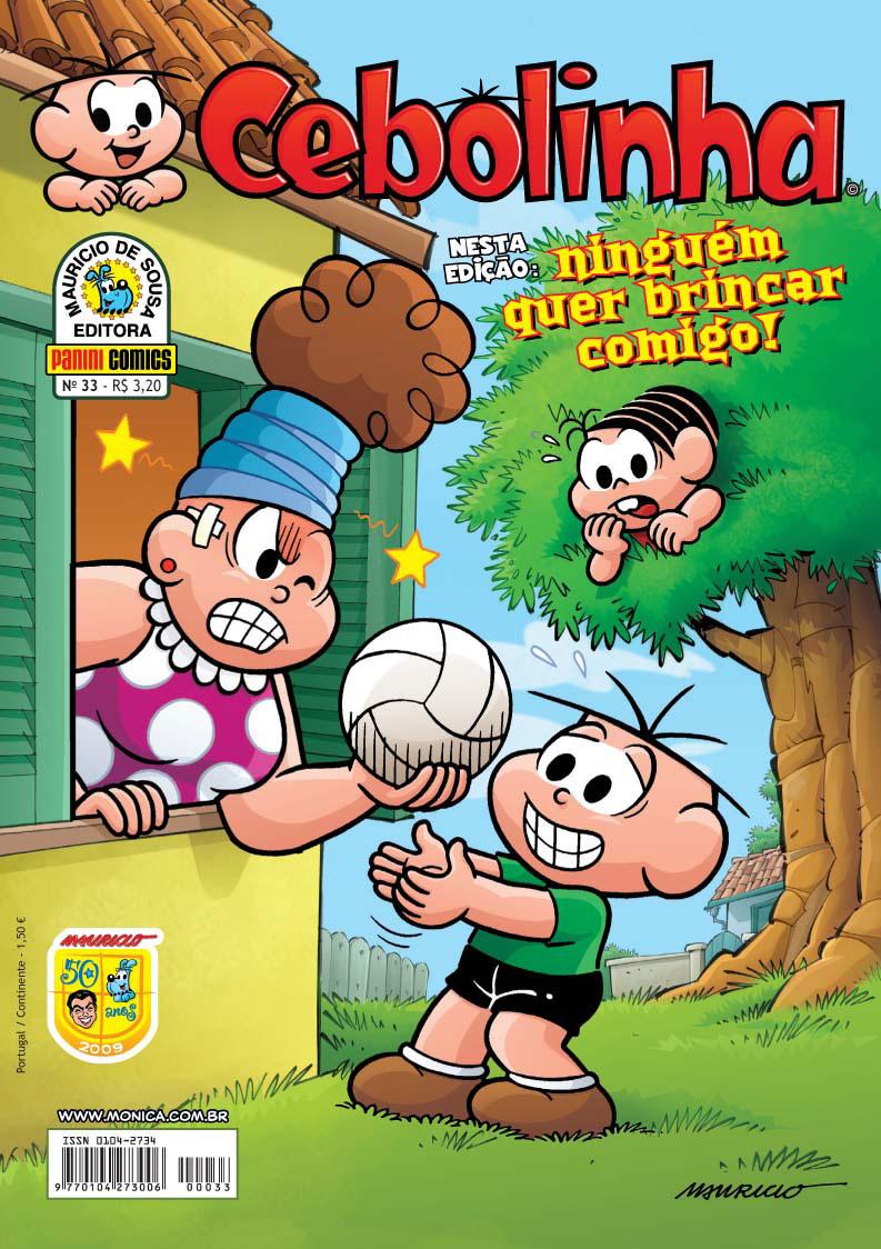 Cebolinha 1ª Série - Nº 33