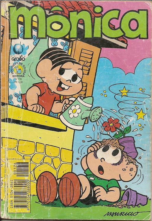 Mônica nº 176 (Editora Globo)