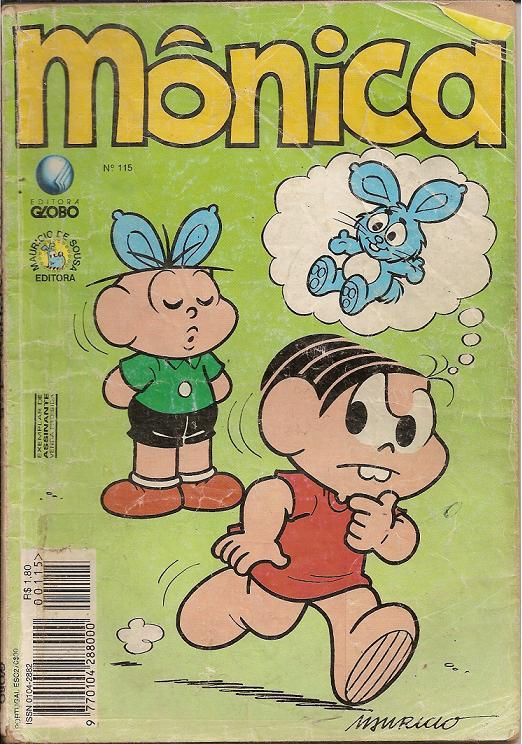 Mônica Nº 115 (Editora Globo)