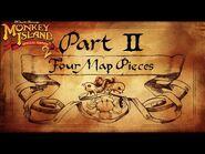 Monkey Island 2 Special Edition- LeChuck's Revenge - PART 2- FOUR MAP PIECES