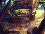 Plunder Island - Cabaña